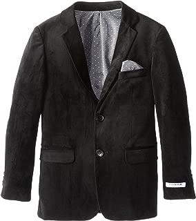 Isaac Mizrahi Big Boys' Single-Breasted Velvet Blazer Jacket