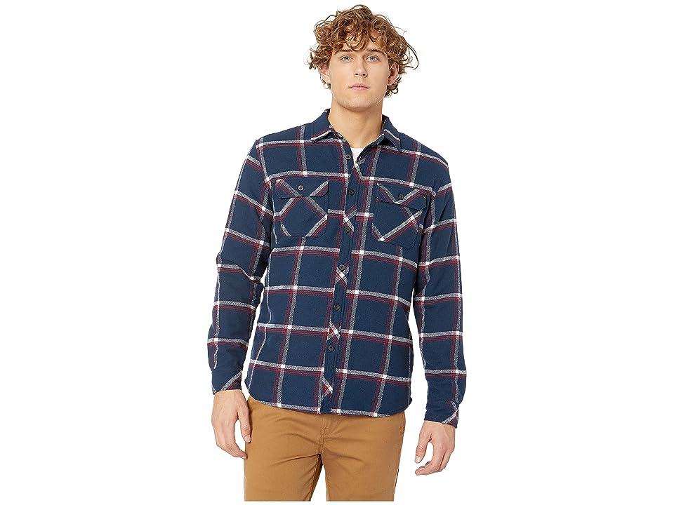 Rip Curl Coffs Flannel Shirt (Navy) Men