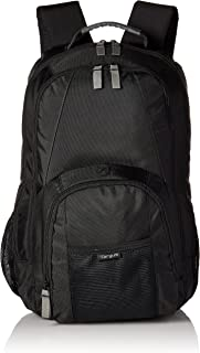 Targus Groove Professional Business Laptop Backpack with Padded Compartment for 17-Inch Laptop, Black (CVR617)