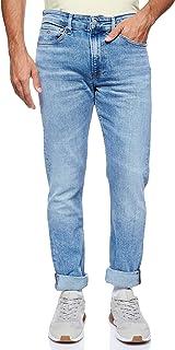 Calvin Klein Jeans Men's 058 Slim Taper Denim Pant, Blue, 31W/32L