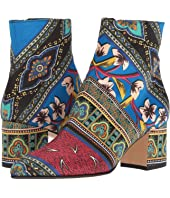 Etro - Printed Satin Boot