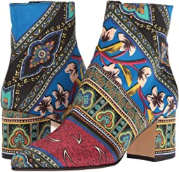 Printed Satin Boot