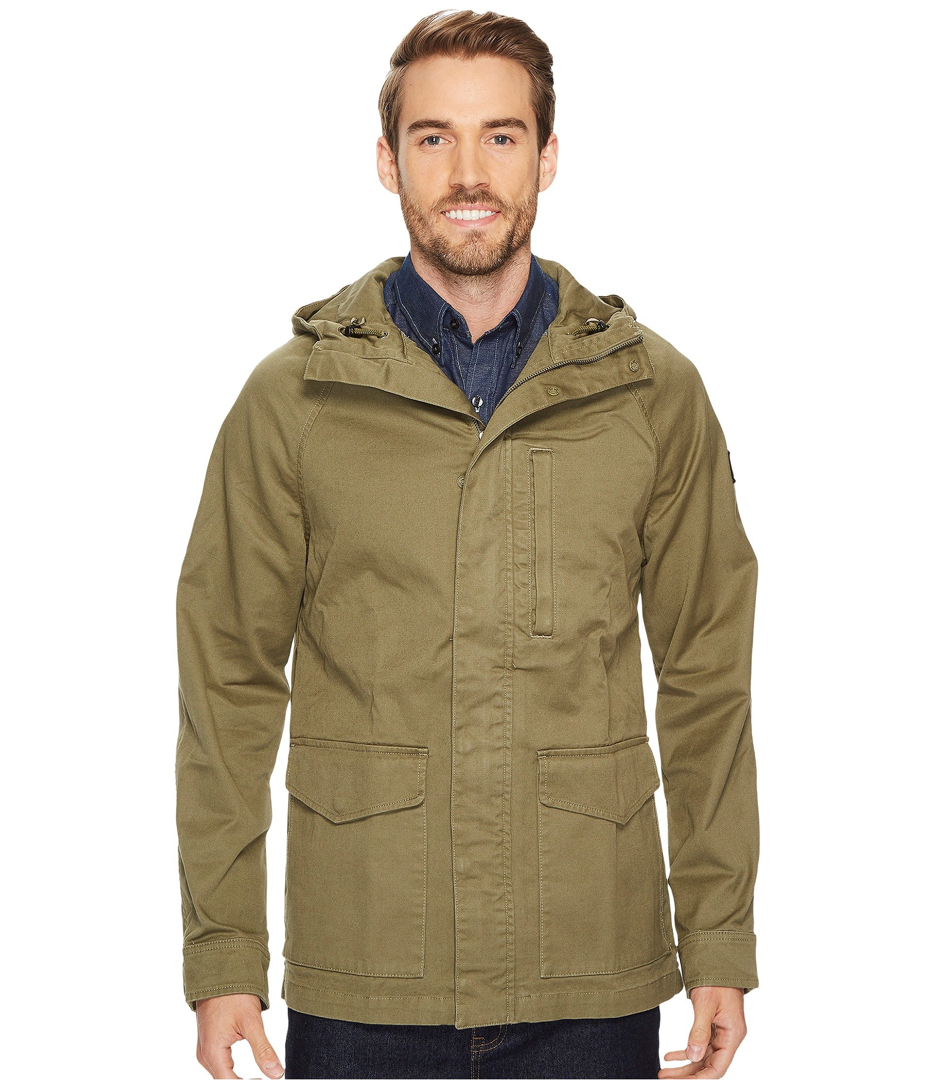 The North Face Mens Utility Jacket (Burnt Olive Green)