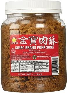 Kimbo Brand Sung Cooked Dried Pork 18 oz (1lb, 2oz)
