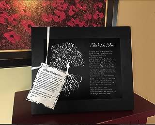 the oak tree poem framed