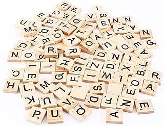 DSYJ Scrabble Tiles (100 Letter Tiles)