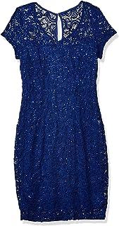 Marina Women's Sequin Lace Cocktail Dress