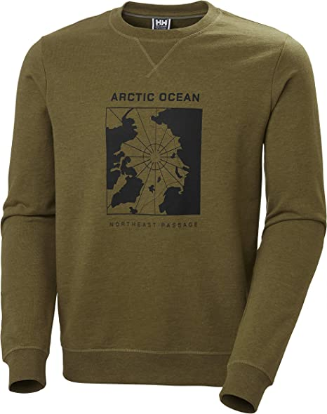 TALLA M. Helly Hansen Arctic Ocean Sweatshirt Sudadera, Hombre
