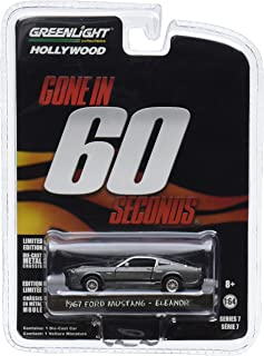 "Greenlight 44742 Gone in 60 Sixty Seconds (2000) ""Eleanor"" 1967 Ford Mustang Shelby GT500 1/64 Scale"