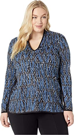 Plus Size Heavenly Split Top