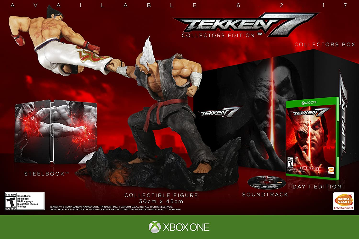 Tekken 7: Collector's Edition 55% OFF One - Xbox Mesa Mall