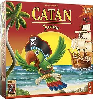 999 Games - Catan Junior Bordspel - vanaf 6 jaar - Een van de beste spellen van 2009 - Klaus Teuber - voor 2 tot 4 spelers...