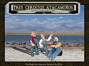 Cuento Tres Cerditos Atacameños (Ilustrado): Original versión del cuento clásico puesto en escena en San Pedro de Atacama. Colección de cuentos con ilustraciones ... Cuentos en América nº 2) (Spanish Edition)