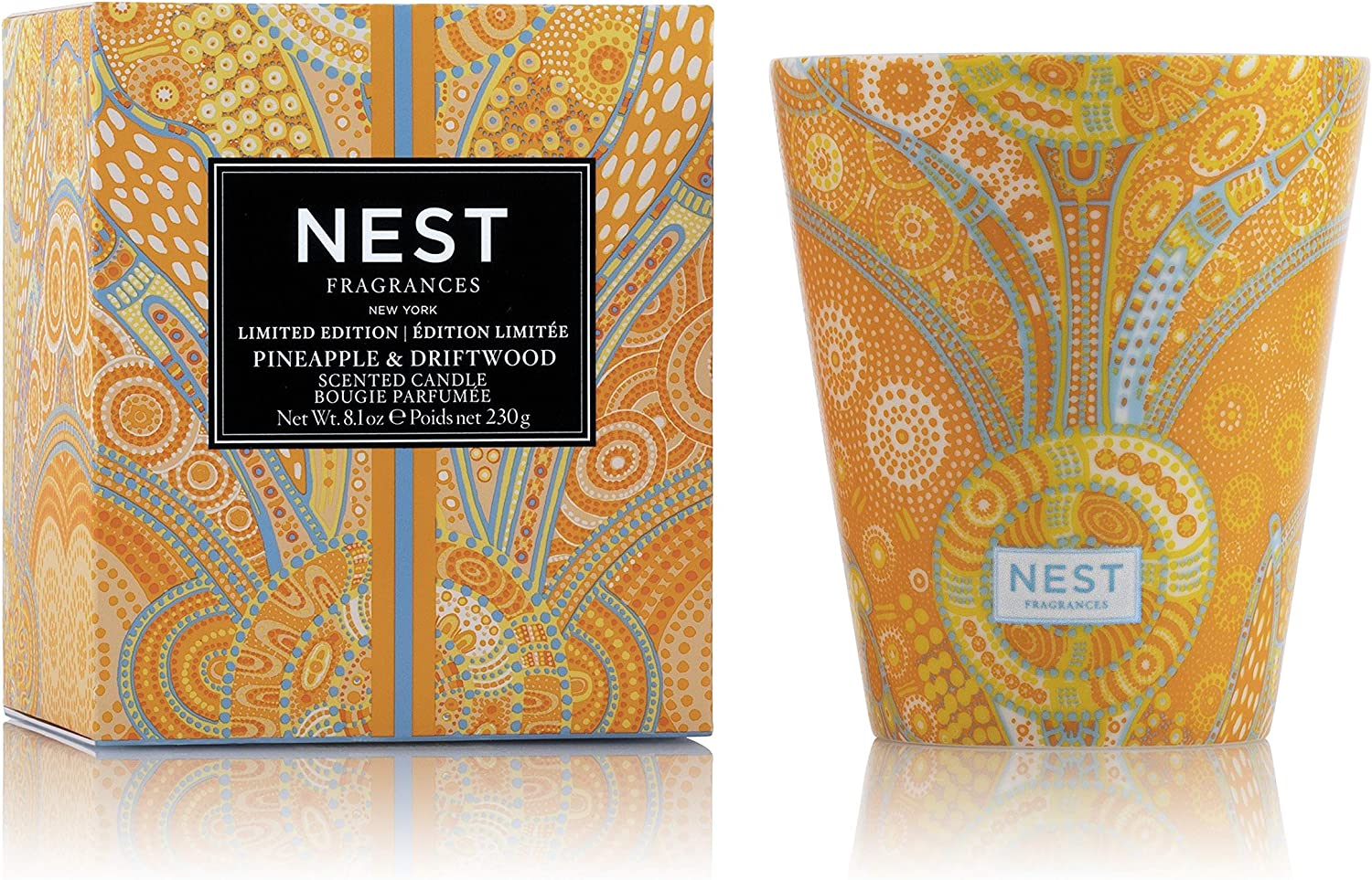 NEST Fragrances Pineapple & Driftwood Limited Edition Summer 'Scape Candle