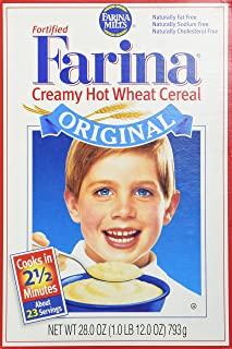 Farina Mills Fortified Farina Creamy Hot Wheat Cereal 28 oz (packaging may vary)