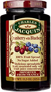Charles Jacquin Cranberry with Blueberry Fruit Spread 325 g