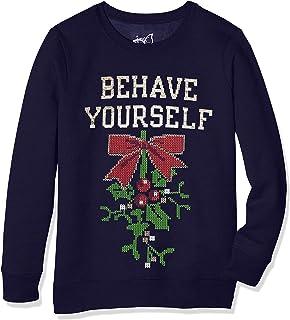 Just My Size womens Just My Size Women's Ugly Plus Christmas Sweatshirt Sweatshirt (pack of 1)