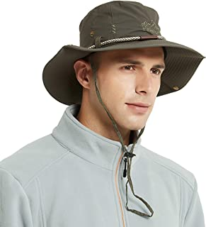 UPF 50 Protection Wide Brim Summer Hat for Fishing Hiking,Camping & Outdoor Adventures for Men & Women