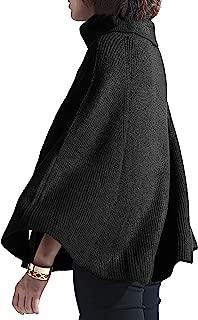 cape sweater dress