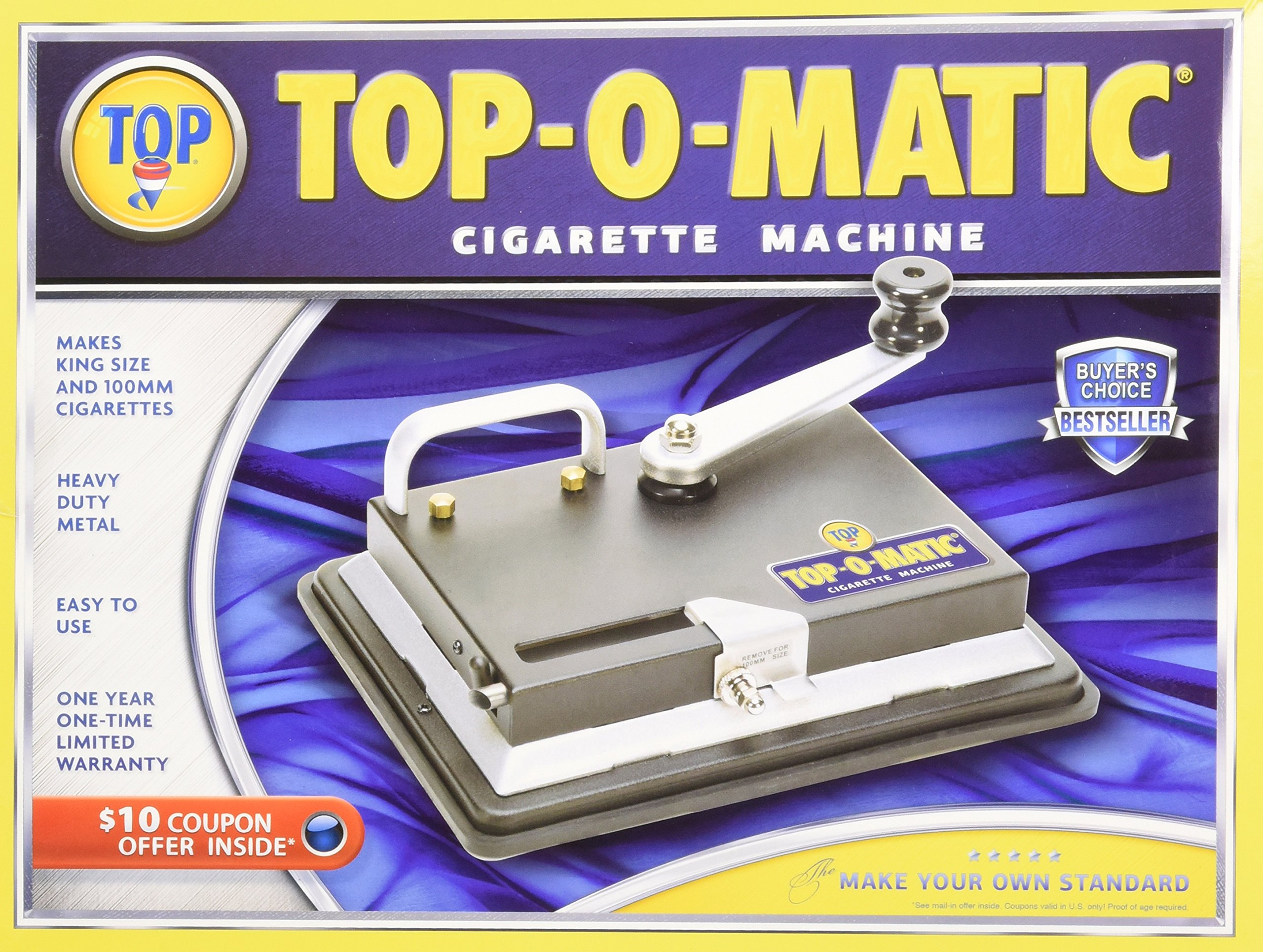 New Top O Matic Cigarette Rolling Machine