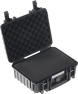 B&W International Type 1000 Outdoor - Maletín para cámara (con Espuma), Negro
