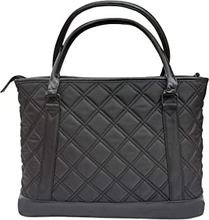 Dattatreya Large Multi Utility Compartments Quilted Work Women Ladies Laptop Hand Bag Purse for College Girls