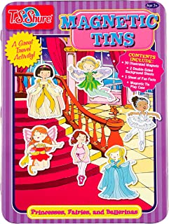 T.S. Shure Princesses, Fairies & Ballerinas Magnetic Tin Play Set