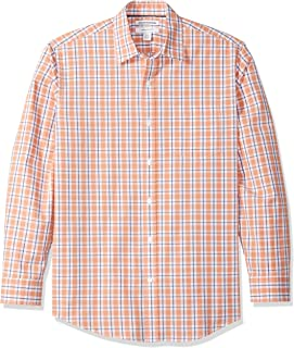 coral mens button up shirt
