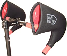 Bar Mitts Cold Weather Road Bicycle Handlebar Mittens, fits Campy/SRAM/Shimano Shifters with Internally Routed Cables