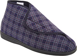 Sleepers Mens Brett II Wide Fitting Boot Slippers
