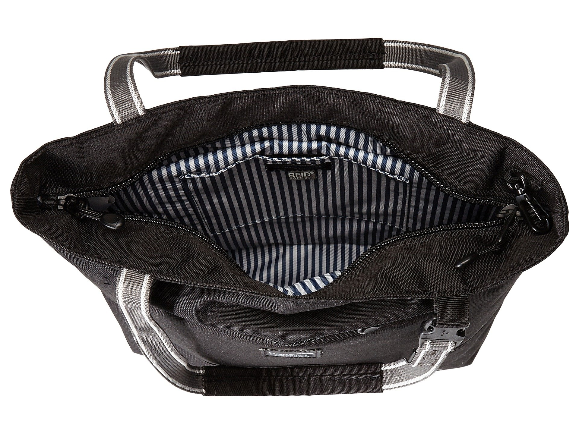 Black Tote Compact theft Bag Anti Pacsafe Lx200 Slingsafe xcWqH0FaF
