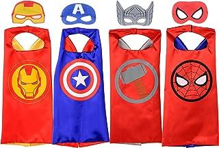 Rubie's MARVEL SUPER HERO Cape Set, Officially Licensed 4...