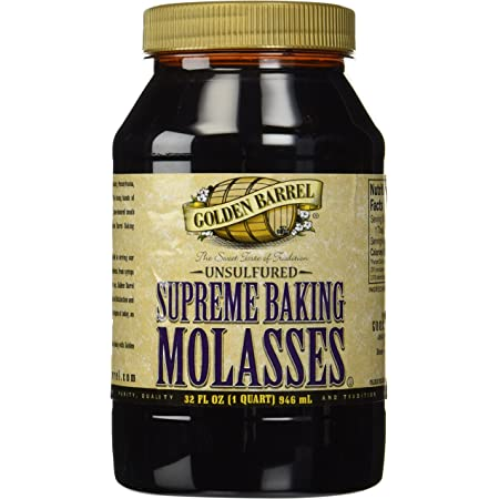 Golden Barrel Unsulphured Supreme Baking/Barbados molasses, 32 Ounce