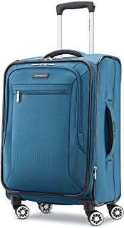 Samsonite Ascella X Softside Expandable Luggage with Spinner Wheels, Teal, Carry-On 20-Inch