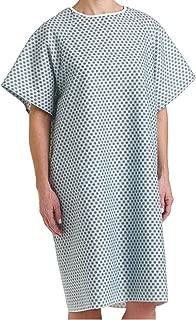 Bella Kline Double Tie Back,Hospital Patient Unisex Gown, 3Pk