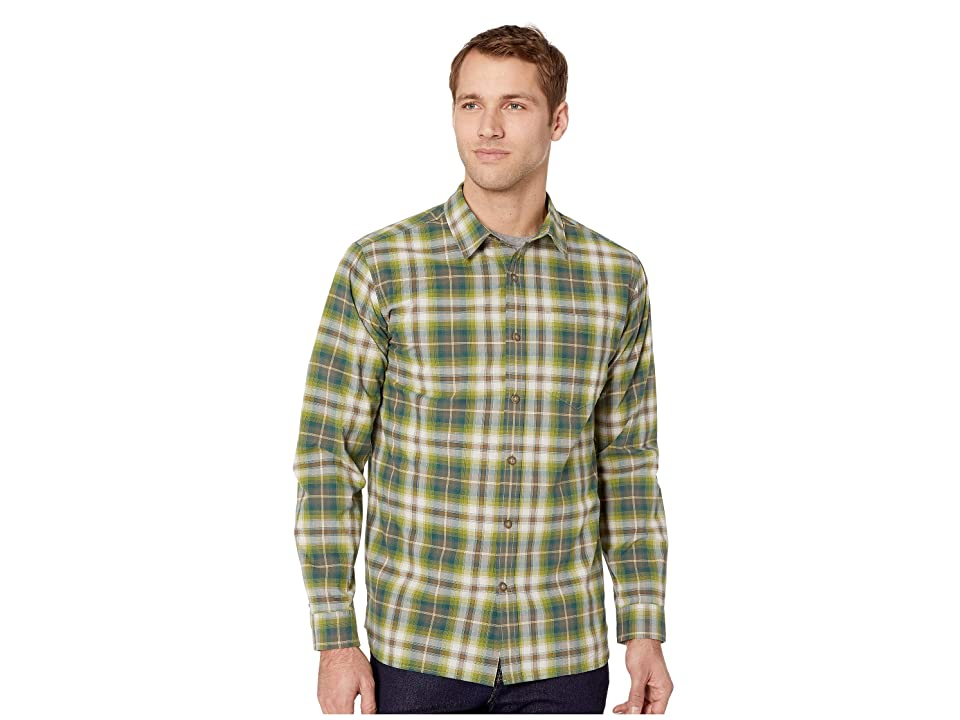 Royal Robbins Trouvaille Plaid Long Sleeve (Climbing Ivy) Men