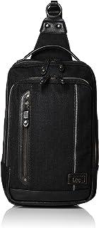 [リー] ボディバッグ?ワンショルダー デニム地 メタルロゴプレート 3WAY 持ち手付き リュック(タブレット収納可能) 320-3603