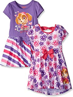 Paw Patrol Girls' 2 Pack Dresses by Nickelodeon