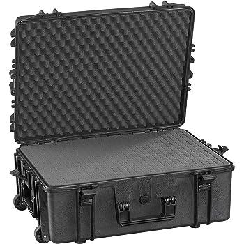 Max MAX540H190S IP67 resistente al agua nominal de tapas rígidas para fotografía equipo estanca resistente de transporte Transit plástico funda/espuma de poliuretano de/caja de transporte para iMac caja de herramientas: Amazon.es: Bricolaje