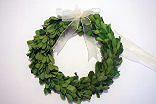 Tradingsmith Preserved Boxwood Wreath 8 in