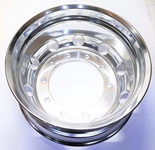 Dura-Bright Polished Aluminum 10 Stud Rim 886523DB