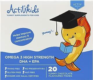 Omega 3 High Strength DHA+EPA, 20 count