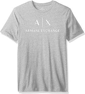 A|X Armani Exchange Mens 8NZTCJZJH4Z Ax Logo Crew Neck Short Sleeve Jersey T-Shirt Short Sleeve T-Shirt