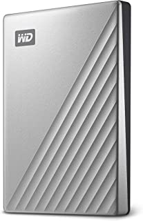 Western Digital 西部数据 WD My Passport Ultra Blue Portable External 2TB 便携式移动硬盘, USB-C - WDBC3C0020BBL-WESN