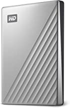 WD 2TB My Passport Ultra Silver Portable External Hard Drive, USB-C - WDBC3C0020BSL-WESN