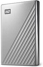 WD 1TB My Passport Ultra Silver Portable External Hard Drive, USB-C - WDBC3C0010BSL-WESN