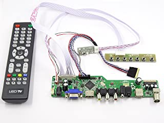 Controller Board Driver kit for LCD Panel HSD100IFW1-A04 TV+HDMI+VGA+USB