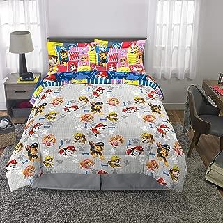 Franco Kids Bedding Super Soft Comforter and Sheet Set with Bonus Sham, 7 Piece Full Size, Paw Patrol