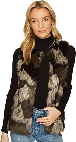 Jack by BB Dakota - Genevieve Patch Work Faux Fur Vest