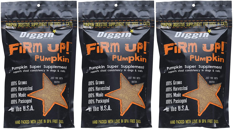 Diggin Your Dog Las Vegas Mall gReDFn Firm Up Pumpkin 9. Vegetable Supplement Max 51% OFF